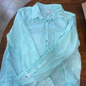 J Crew Button Up xl mint